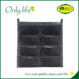 Plantador colgante del plantador ampliamente utilizado vertical movible de la pared de Onlylife
