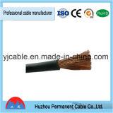 Cable de goma de la soldadura, alambre eléctrico, conductor de cobre