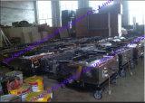 China Auto Cement Block Wall Reator Máquina de renderização