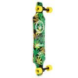 "Skateboard Longboard volles Ahornholz bildete grünes 36*9 "" M C001-1"