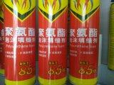 La espuma de poliuretano con 750ml y 900g