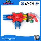 Cour de jeu extérieure d'enfants de plastique de jeux de parc d'attractions à vendre (KP160429E)