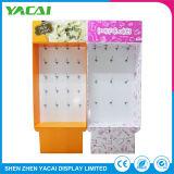 Reciclar papel doblado para rack de exposiciones de piso cartón mostrar