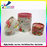 Fabrik-Preis-runder Duftstoff-Geschenk-Kasten mit schönem Prrinting