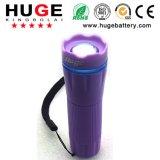Bewegliche 3A batteriebetriebene Taschenlampe des Plastikled (KBL-3A)