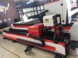 Cortadora del laser de la fibra de la hoja y del tubo de metal de la buena calidad usada en el equipo agrícola