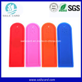 織物の能力別クラス編成制度のためのNtag213 13.56MHz RFIDの洗濯の札