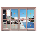 Portello scorrevole di vetro di prezzi competitivi con lo SGS approvato