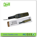 Блок развертки детектора металла продуктов сигнала тревоги обеспеченностью ручной супер Handheld с высокой чувствительностью