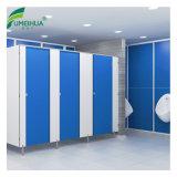 Bleu clair stratifié imperméable Partition de l'armoire de toilette avec douche