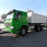 خضراء شاحنة رأس [هووو] [6إكس4] [دومب تروك] [371هب] [سنوتروك] قلاب/شاحنة قلّابة