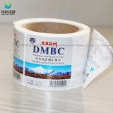 De Stickers van het Broodje van het document pvc voor de Fles van de Drank