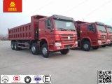 Тележка сброса тележки HOWO 371HP 8X4 40-50ton эфиопии