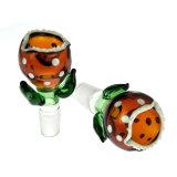 Accesorios fumadores Flor de gracia el tazón de vidrio de vidrio para tubo de agua (B46).
