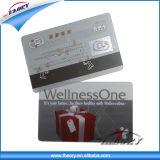 Cartão popular da identificação do PVC do espaço em branco. Cartão de microplaqueta em branco do PVC para ID/Businesss/Transport