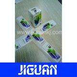 Venta caliente personalizado de diseño libre 10ml frasco Farmacéutica del holograma etiqueta