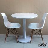 Искусственний мраморный комплект обедая таблицы мебели