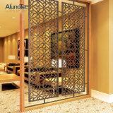 Modèle en aluminium décoratif de panneau de constructeur