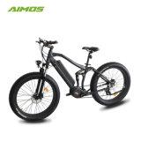 完全な中断電気バイク250W中間モーター脂肪Ebike/Eバイク