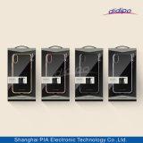 Caso de la célula Ultra-Delgada modificada para requisitos particulares/del teléfono móvil para el iPhone 6/7/8 X más la flexión de Metalico