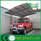 Прочный алюминиевый порошковое покрытие рамы низкие расходы на обслуживание Carports (177КПП)