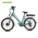 26 polegadas pneu 1,75 Lady Style Cidade Verde Ebike