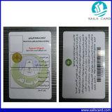 Impresión de tarjetas de PVC plástico