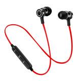 Usine Sport magnétique à bon marché de gros casques sans fil Bluetooth avec dans la conception de l'oreille