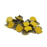 جديد نمو صفراء شكّل قطة نحاس أصفر يقدح أزرار لأنّ لباس