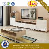 Verre aluminium moderne Partition/station de travail de bureau en bois (HX-8N2360)