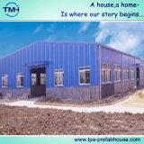Edificio de la estructura de acero del panel de emparedado del EPS