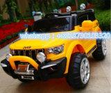 Paseo del jeep de la potencia de batería en el juguete del plástico de los niños del coche