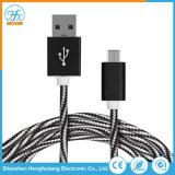 Custimized 길이 5V/2.1A 이동 전화를 위한 마이크로 USB 데이터 케이블