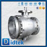 Didtek 100% 시험 A105는 화학 플랜트를 가진 포이 공 벨브를 위조했다