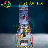 호화스러운 비전 아케이드 게임 기계를 경주하는 실제적인 스기 눈 경험