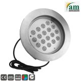 superficie sommergibile IP68 di 316ss 54watt LED