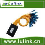 Divisor quente Blockless do PLC da fibra óptica da venda