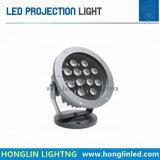 Projecteur extérieur chaud de lumière de jardin de la vente 12W IP65 DEL pour l'horizontal