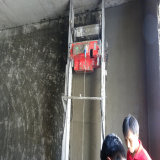 Mörtel-Wand-Sprüher, der Maschine vergipst