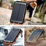 ライトが付いているユニバーサル小型防水卸し売り携帯用太陽エネルギーバンク