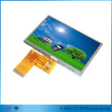 """4.3 """" 480*272 350nits al módulo ancho disponible del ángulo de visión 700nits TFT LCD"""