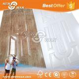 Peau de porte de mélamine/peau moulée de porte de la peau de porte/HDF pour les portes intérieures