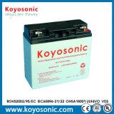 12V de alta qualidade 18ah gel recarregável Bateria de chumbo-ácido, bateria solar