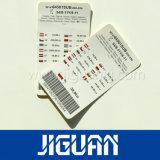 Qualitäts-kundenspezifische Kraftpapier-Ösen-Papier-Fall-Marke