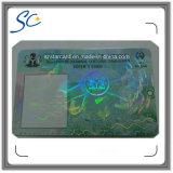 Текст профессиональной фабрики микро-/незримая UV анти- карточка PVC фальшивки