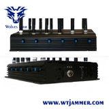 Emittente di disturbo potente del segnale di VHF GPS Lojack di frequenza ultraelevata di GSM 3G 4G WiFi 14 delle antenne registrabili