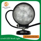 18W LED Round Work Light Flood Beam Lamp Auto Offroad ATV Truck SUV 4WD Offroad Car Accessoreis