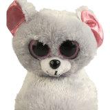 Deslizadores macios cinzentos por atacado das crianças do gato do luxuoso