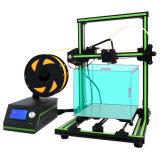 Anet 형식 새로운 디자인 5mins 회의 큰 인쇄 크기 E10 3D 인쇄 기계 기계