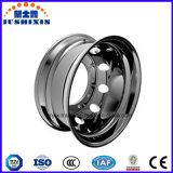 ISOによって承認された22.5X9.0はAlluminumの車輪の縁を造った